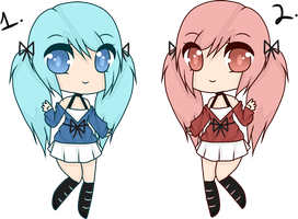 (CLOSED) Point Adoptables: Twins by Acetylace-Adopts
