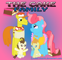 The Cake Family by Cyber-murph