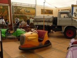old bumper car V by two-ladies-stocks