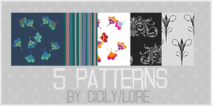 pattern set by cicily by cicily