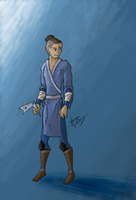 Sokka by blackbirdsfly
