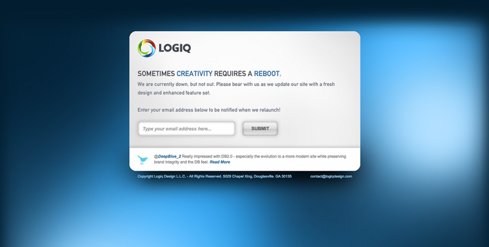 Logiq Down - Not Out by logiqdesign