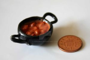 Miniature Balti Chicken Tikka by arihoma