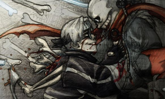 Looks like it was a draw again... by Yakushi--Kabuto