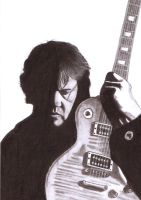 Gary Moore by Slayerlane