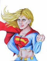 Supergirll Colorbust Final SM by JSimonART