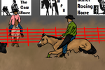 Chico Reined Cow Horse Entry by Starcather9