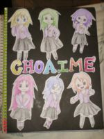Chicas Choaime by ManaKarin