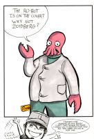 Two Sketch 63: Why not Zoidberg? by Shono