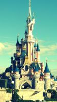 Disneyland Paris - Disney Castle by madubachi