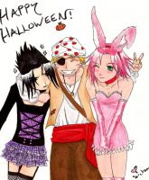 Halloween Naruto-style by AlmightyShadowchan