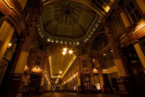 Inside Leadenhall Market. by spurs06