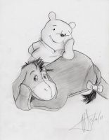 Eeyore and Pooh BFs by MNS-Prime-21