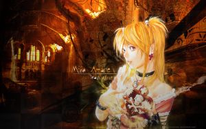 Amane Misa Wallpaper by MCnicoxo
