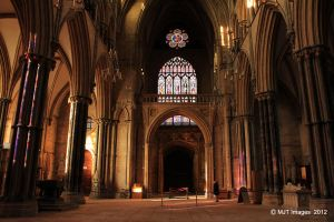 Inside Lincoln Cathedral by MichaelJTopley