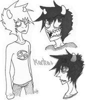 Karkat by Horror-Plant