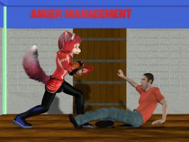So much for Anger Management by Rachidna