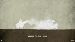 Dota 2 - Keeper of the Light Wallpaper by sheron1030
