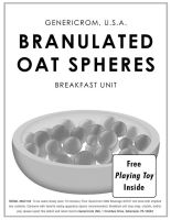 Branulated Oat Spheres by waffledawg