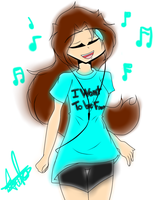 Me And Music by magic-star-ADL