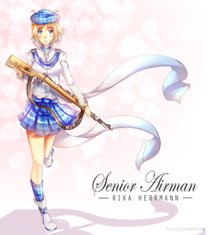 COMMISSION: Senior Airman by CeciliaRinChan