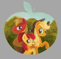Apples on Apple by Maytee