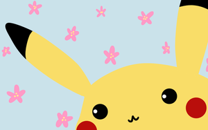 Spring time with Pikachu. by Moedini
