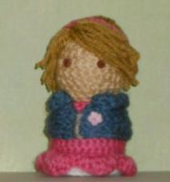 50's Rose Tyler Amigurumi by Craftigurumi