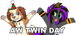 AW TWIN DAY by Fuchsianess