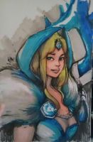 Crystal Maiden by zareah
