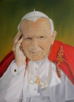 St. John Paul II by halupka