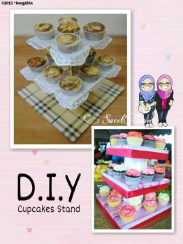 D.I.Y Cupcakes Stand by SongAhIn