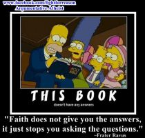 This Book Has No Answers!!! by AAtheist