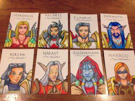 Blizzcon 2013 Character Badges by ladyriven