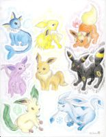 .:eeveelutions:. by cheerio38010