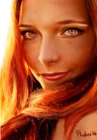 Girl on Fire by Phabee