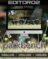 Parkbench Wallpaper by GavinAsh