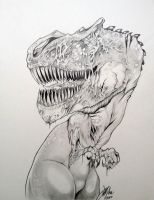 Zombie Rex By DW Miller by ConceptsByMiller