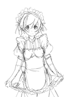 maid sketch by Betachan