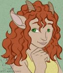 Satyr Portrait by armaina