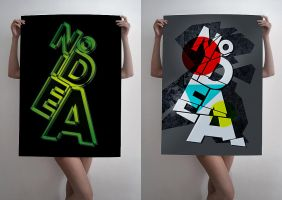Posters with no idea by slovaczech