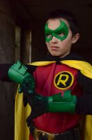 That Damian Smirk by FloresFabrications
