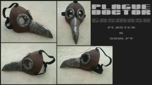 Plague Doctor Mask by BlakkFox
