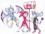 SONICSTUCK: Thief,Maid and Seer by Auroblaze