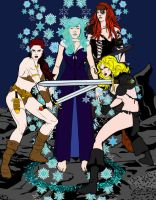Female Rogues by BloodlessRose