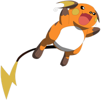 My fourth vector of Raichu. by Flutterflyraptor
