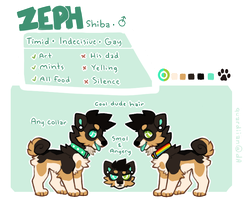 zeph feral ref by quardie