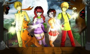 Scooby Doo Gang by beezasaurus