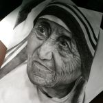 Mother Teresa... (or at least supposed to be..) by FantasyOwlLegend