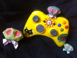 Metroid-XBOX Controller by urfer-art